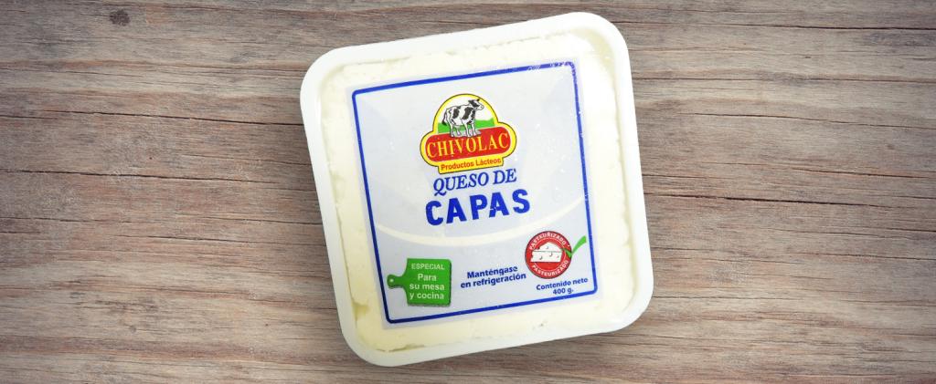 Queso de Capas Chivolac