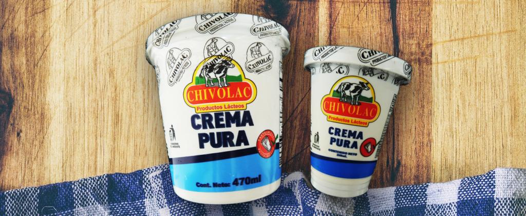 Crema de Mesa Chivolac